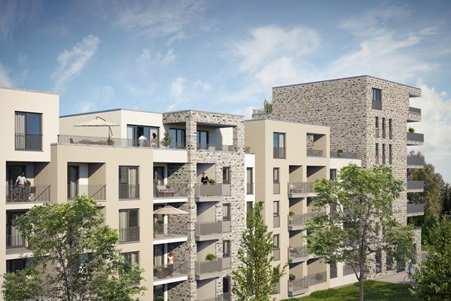 Hohe Nachfrage nach Wohnungen im BahnStadt-Carré